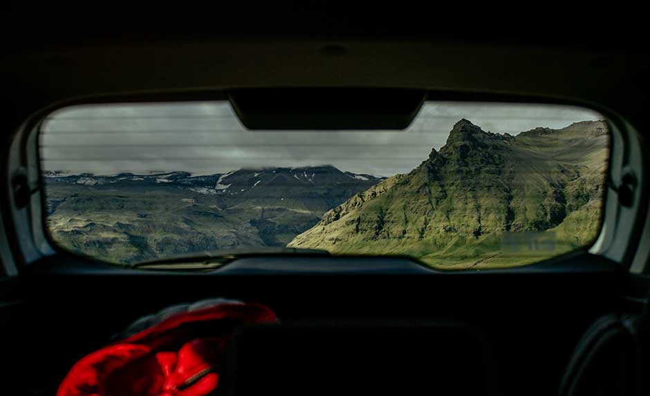 Northern Lights Car Rental in iceland