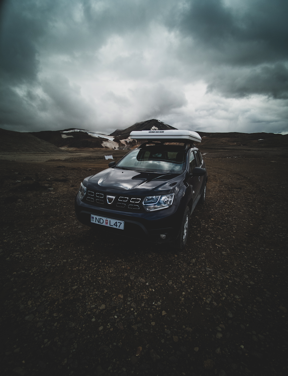Dacia duster with Roof Tent